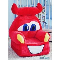 Pliušinis foteliukas...