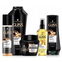 Gliss plaukų rinkinys.
