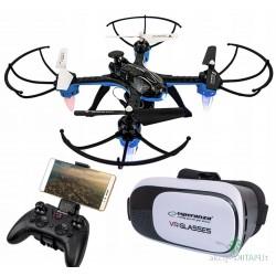 Dronas su WIFI kamera ir VR...